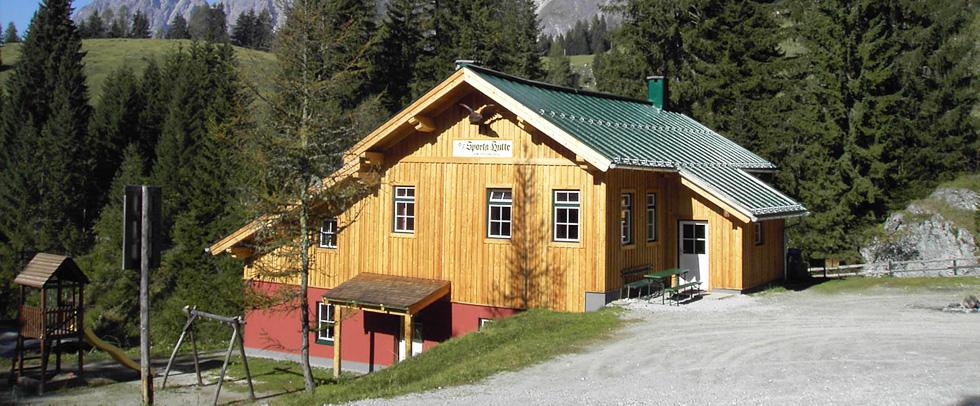 Dovolená Sportahütte - Selbstversorgerhütte