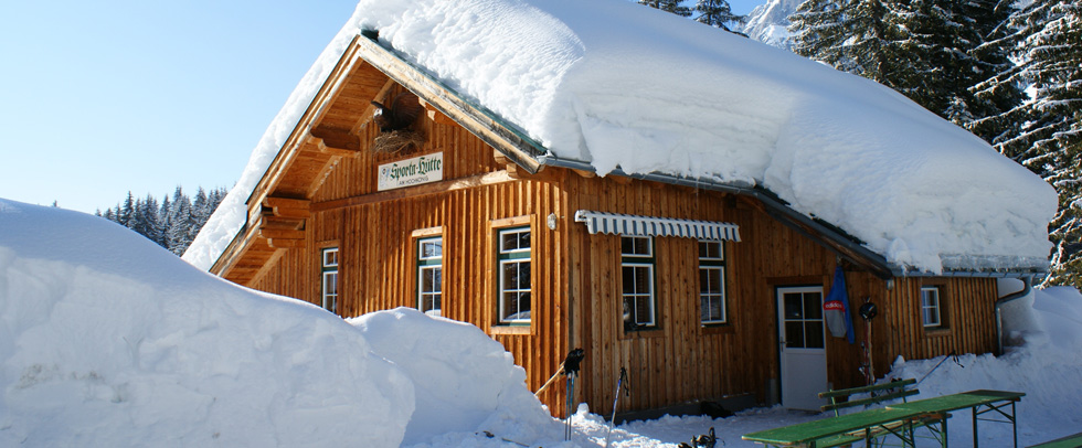 Holidays Sportahütte - Self-catering hut