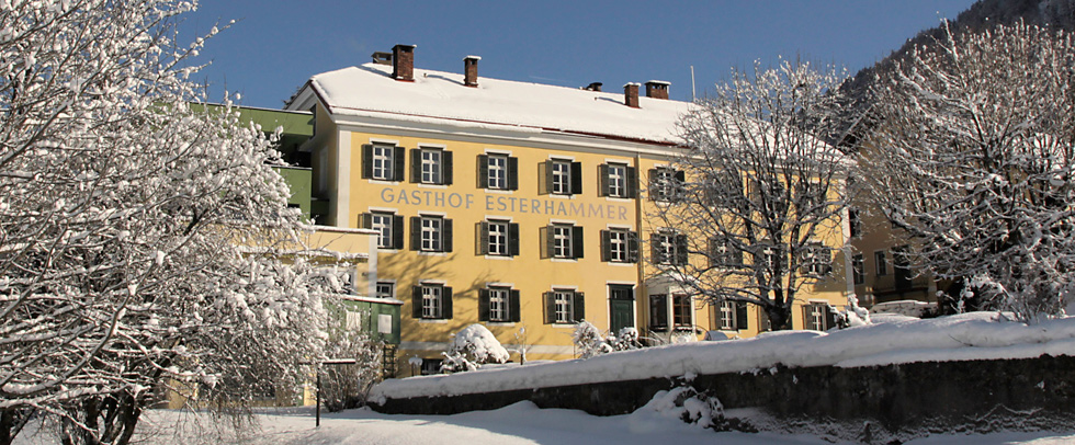 Urlaub Hotel Gasthof Esterhammer