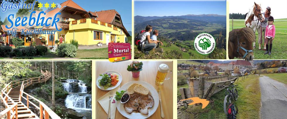 Urlaub Gasthof- Gästehaus Seeblick vlg. Kuchlbauer