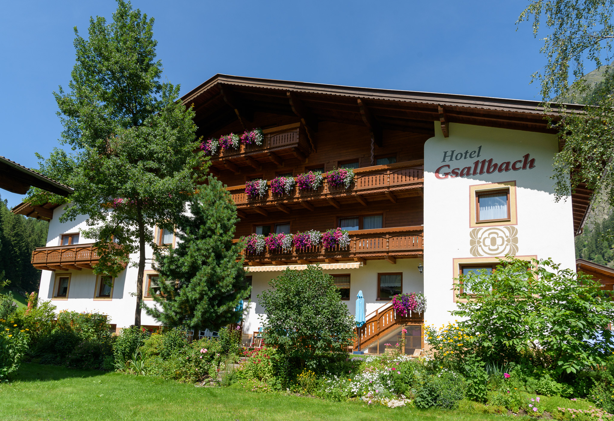 Urlaub Hotel Gsallbach