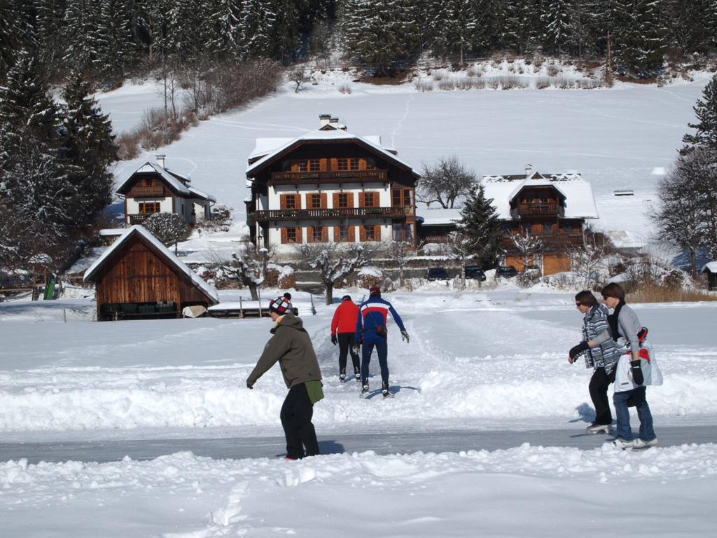 Üdülés Urlaub am Weissensee - Obergasserhof & Bergblick