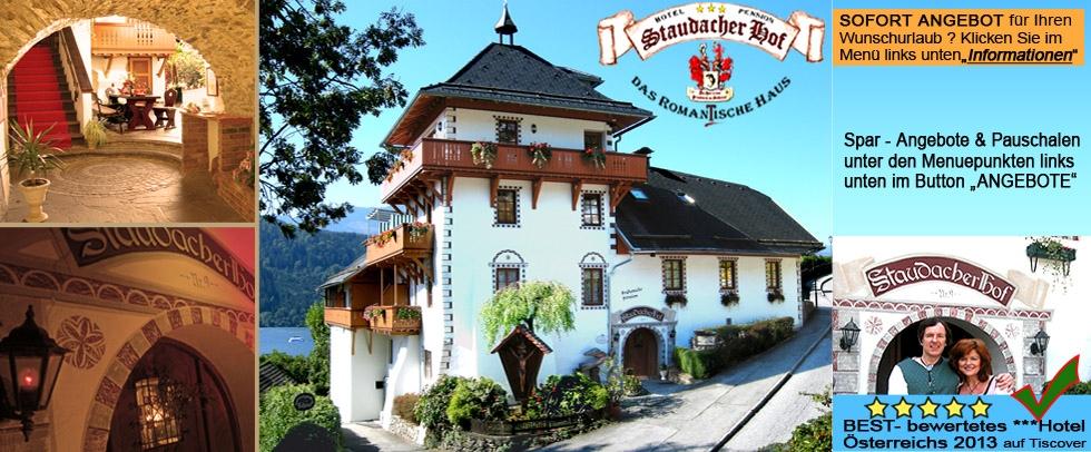 Urlaub STAUDACHER HOF – das Roman(t)ische Haus
