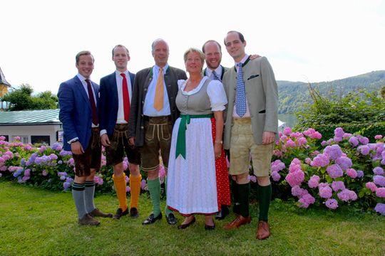 Family  Tacoli  - See-Villa Millstatt