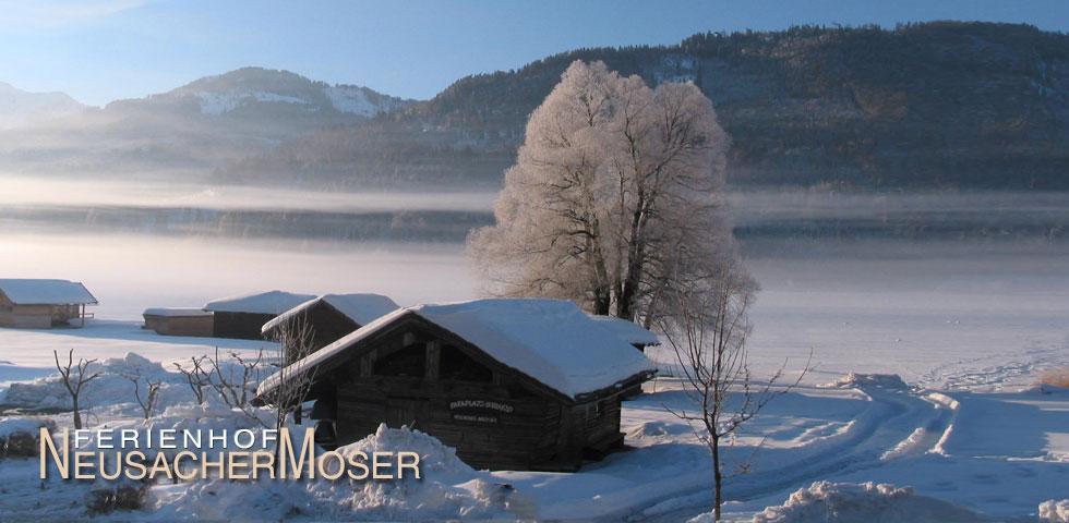 Urlaub Ferienhof Neusacher Moser