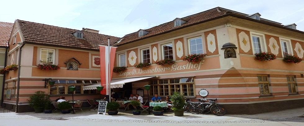 Urlaub Gasthof Hametner mit Innviertler Haus