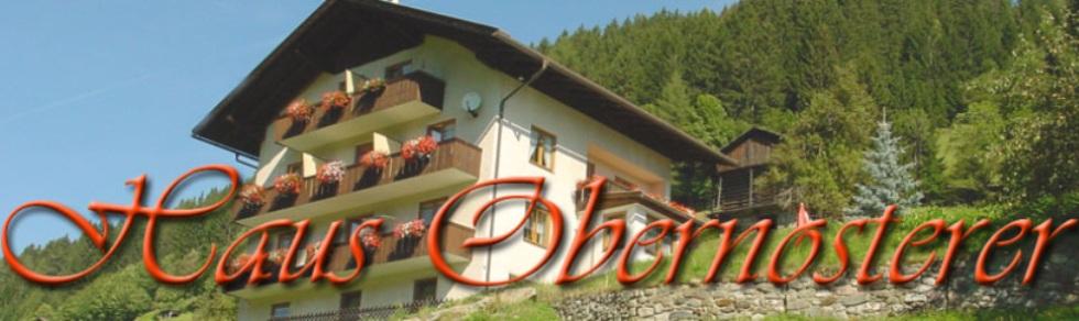 Urlaub Haus Obernosterer