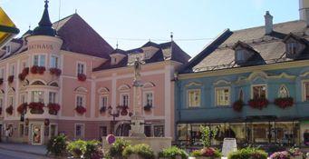 Marktplatz Windischgarsten - Windischgarsten Oberoesterreich