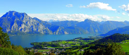 Panorama Traunsee - Altmuenster Oberoesterreich