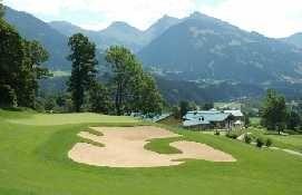 The Golf cours Eichenheim in Kitzbühel - Kitzbuehel Tirol