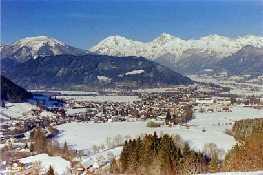 Nationalparkgemeinde Admont im Winter - Admont Steiermark