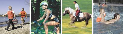 St. Pölten zeigt sich sportlich - Walken, Joggen, Radfahren, Reiten, Schwimmen, ... - St. Poelten Niederoesterreich