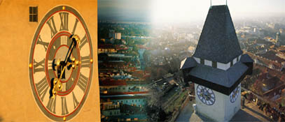 Uhrturm Graz Schlossberg - Graz Steiermark