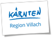 Logo Region Villach - Villach Kaernten