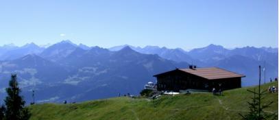 view Frassenhütte - Nueziders Vorarlberg