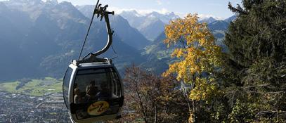 Muttersbergbahn im Sommer - Nueziders Vorarlberg