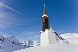 Simmelkapelle - Warth am Arlberg Vorarlberg
