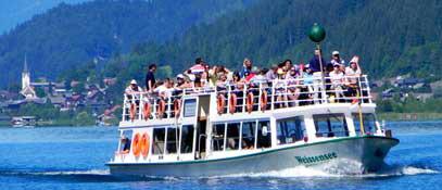 Schifffahrt - Weissensee Kaernten