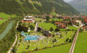 freizeitpark from the sky - Zell  am  Ziller,  Zillertal  Arena Tirol