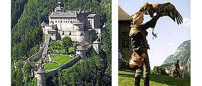Burg Hohenwerfen - Altenmarkt-Zauchensee Salzburg