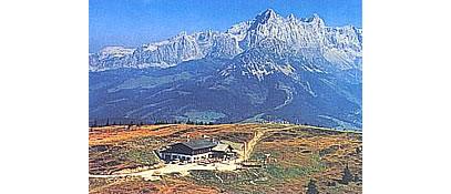 Luftbild vom Rossbrand - Altenmarkt-Zauchensee Salzburg