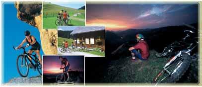 Mountainbiken und Radfahren n Losenstein und der Nationalpark Region Ennstal - Losenstein Oberoesterreich