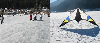 Austria Carinthia Feld am See Brennsee Eiscurling Ice-dragon-festival - Feld am See Carinthia