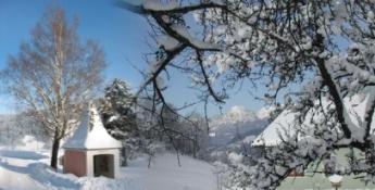 Bezaubernde Winterlandschaft - Lassing Steiermark