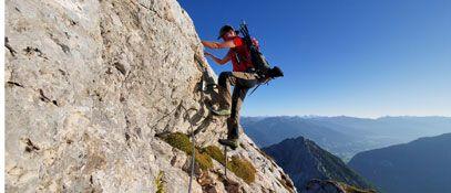Klettergebiet Rofan - Maurach am Achensee Tirol