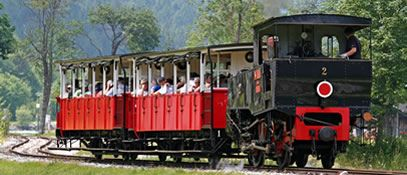 Europe's oldest cog steam train - the Achensee - Maurach  am  Achensee Tirol