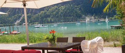 Beachbar Buchau - Maurach  am  Achensee Tirol