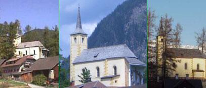Der sonnige Süden Salzburgs... Filialkirche St. Wolfgang Image - Mauterndorf Salzburg