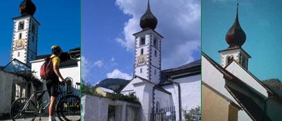 Der sonnige Süden Salzburgs... Filialkirche St. Gertrauden Bild - Mauterndorf Salzburg