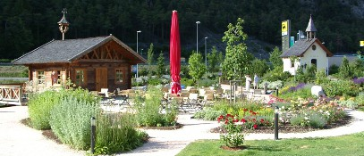 Tourist attraction - Hitte Hatte - in the Trofana Tyrol in Mils near Imst  - Mils bei Imst Tirol