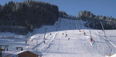 Skidorf Kirchbach Panoramabild - Skidorf Kirchbach Rappottenstein